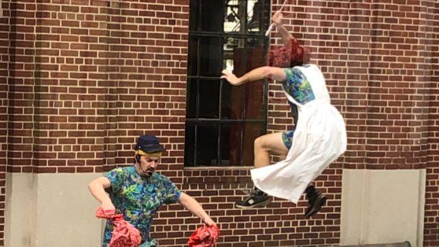 Moron Parasol Jump