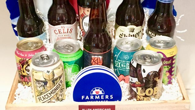 Farmers Insurance Custom Gift Basket