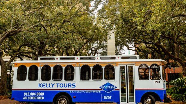 Kelly Tours Trolley