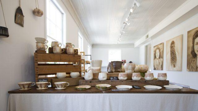 Claire Parrish Ceramic work
