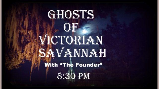 GHOSTS OF VICTORIAN SAVANNAH