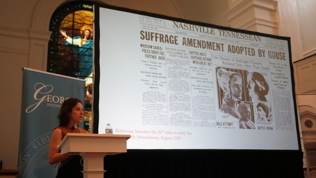 Georgia History Festival Kickoff Lecture