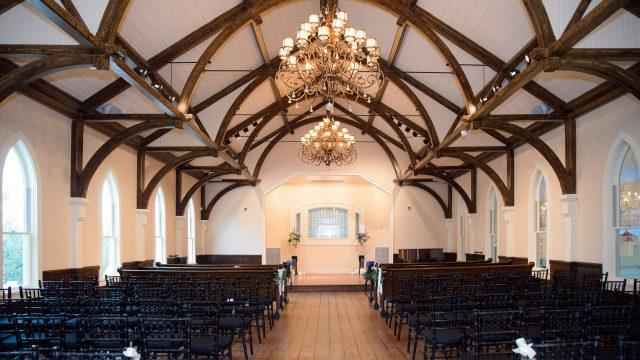 Tybee Wedding Chapel Sanctuary