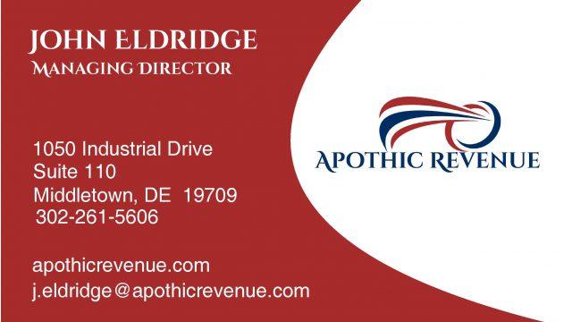 John Eldridge - Business Card