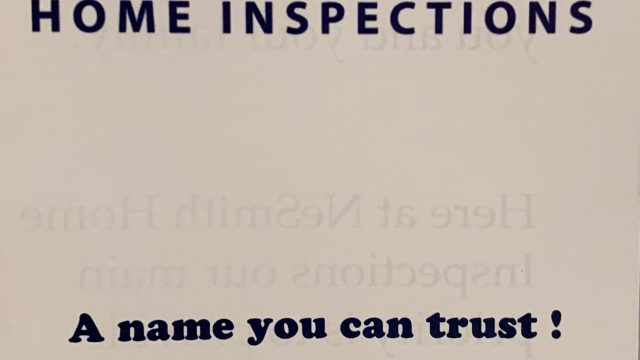 NeSmith Home Inspections LLC
