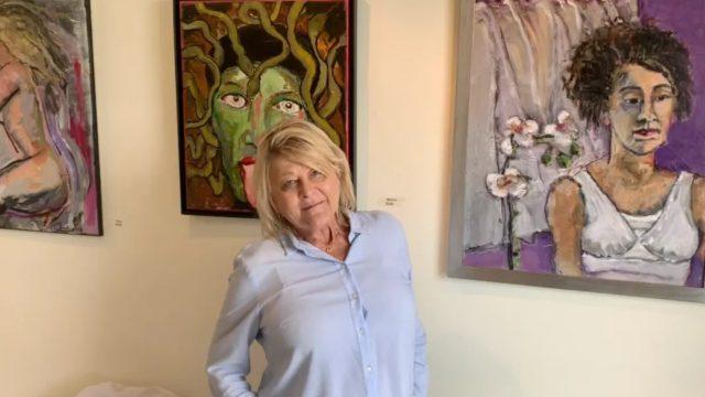 Owner/Artist Pamela Beckwith