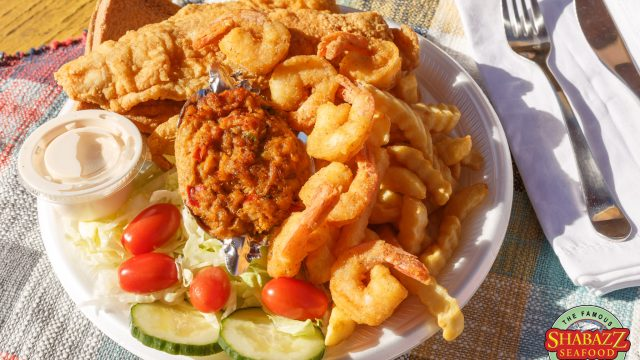 Shabazz Seafood Platter