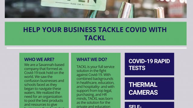 Tackle Covid with Tackl for Businesses