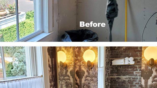 Bathroom, complete renovation