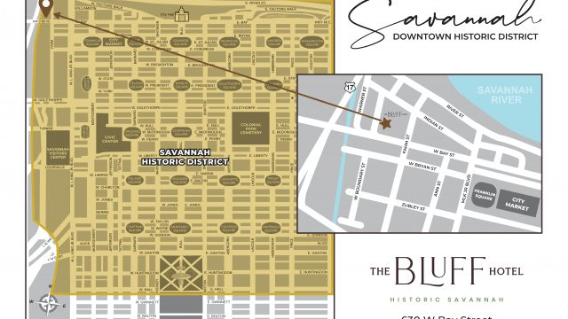 Our location in the Historic District