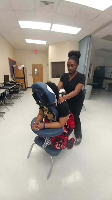 Schedule a FREE Massage Day for your employees!